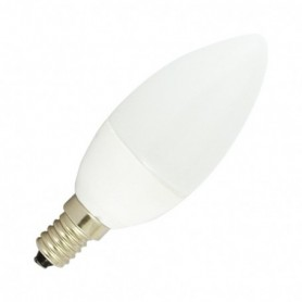 LED 4 WATT FLAMME E14 3000°K CERAMIC DEPOLI BLISTER