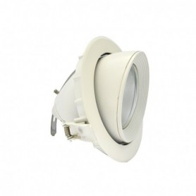 LED PLAFOND CIRCULAIRE ORIENTABLE 10W 3000°K