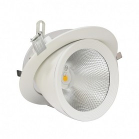LED PLAFOND CIRCULAIRE ORIENTABLE 30W 4000°K