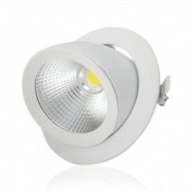 LED PLAFOND CIRCULAIRE ORIENTABLE 20W 4000°K