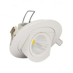 LED PLAFOND CIRCULAIRE ORIENTABLE 10W 4000°K