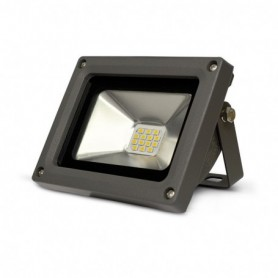 PROJECT LED 230 V 10 WATT 3000°K GRIS IP65