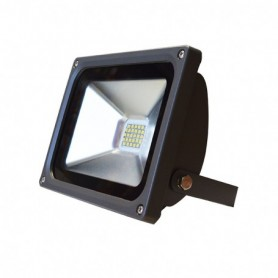 PROJECT LED 230 V 20 WATT 4000°K PLAT GRIS IP65