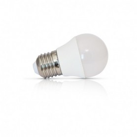 LED 4 WATT G45 BULB E27 3000°K CERAMIC DEPOLI BLISTER