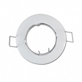 SUPPORT DE SPOT ROND BLANC 79mm 860